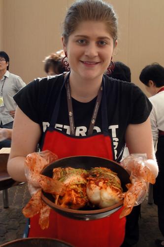 Post-making some kimchi