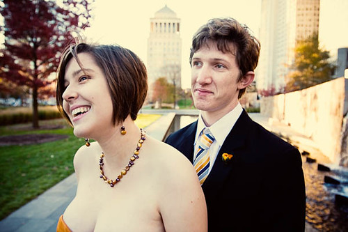 Anne & Andrew before the wedding