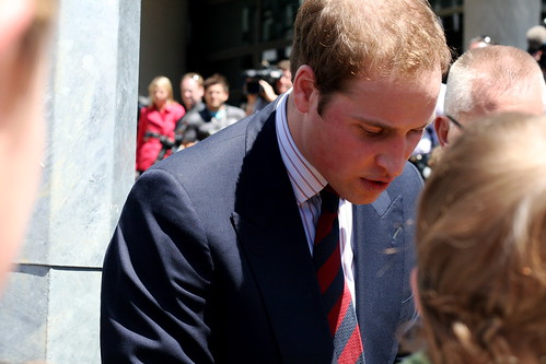 Monday: Prince William: he was very lovely