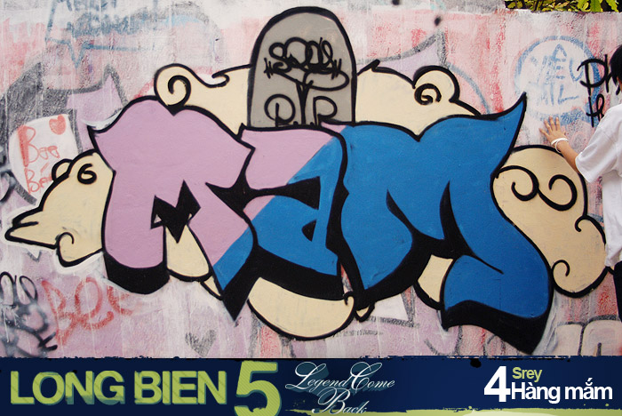 Long Biên 5 Graffiti Battle 3