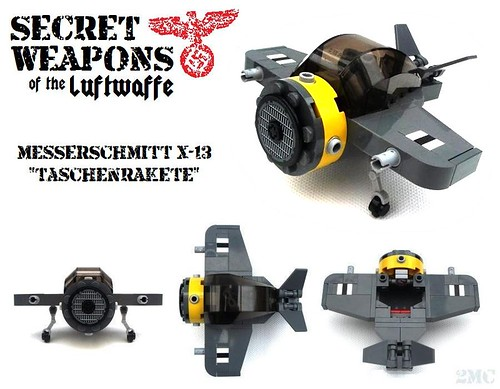 Secret Weapons of the Luftwaffe: ME X-13