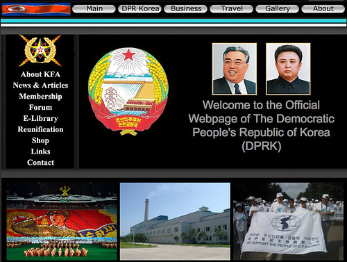 Official Webpage of The Democratic People's Republic of Korea