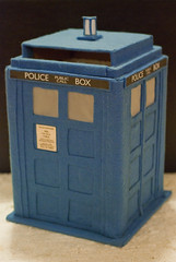 Our wedding cardbox, the TARDIS