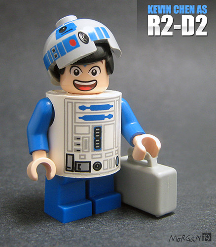 Kevin Chen as R2-D2 (Front)
