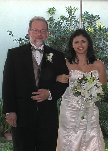 Dad and Amanda