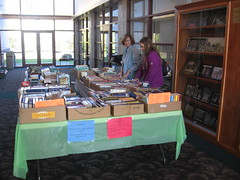 Library book sale 001