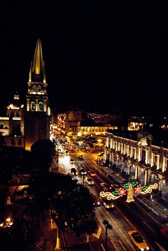 Avenida Alcalde y Catedral desde las alturas
