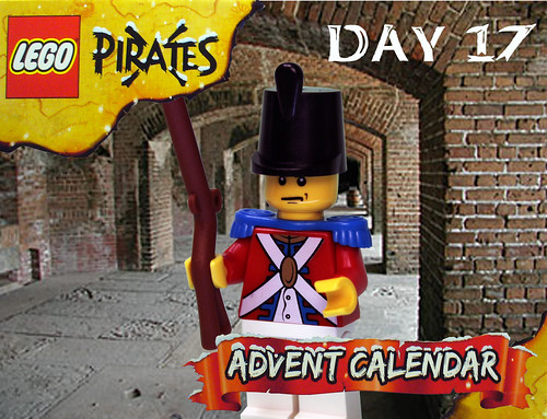 Pirate Advent Calendar Day 17
