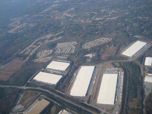 Atlanta, GA from my flight