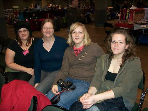 Crystal, Bertine, me and Jess