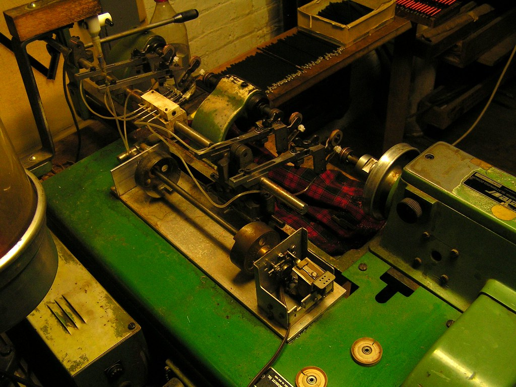Machine to wind wire for electromagnets, Austin Organs