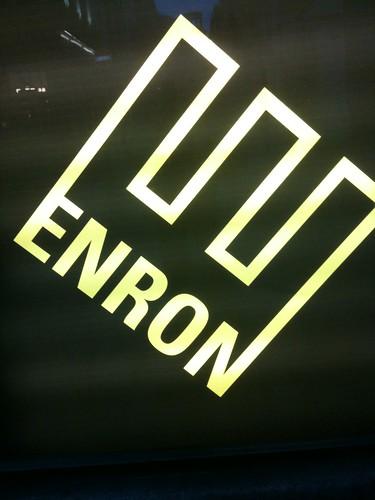 Enron the play, St Martin's Lane, London
