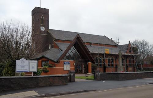 St. John's Church, High Street, Walsall Wood.