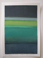 #2 Green, Gray + Denim