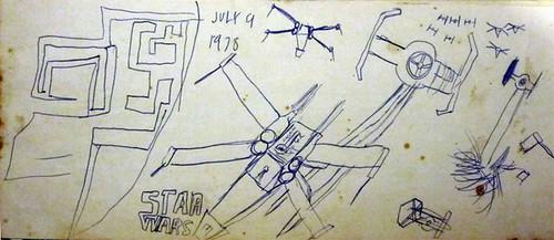 Star Wars illustration 1978