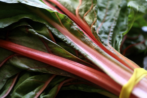 swiss chard from the farmer's market