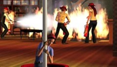 Screencaps from Lady Antebellum's Sims 3 Ambitions music video