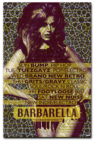 Weekly Events at Barbarella Austin
