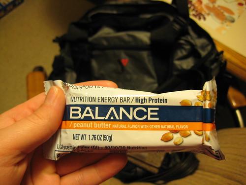 balance pb bar