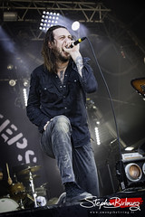 Lawrence « Loz » Taylor - WHILE SHE SLEEPS @ HELLFEST 2017
