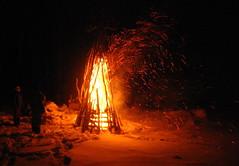 Ponderosa Bonfire