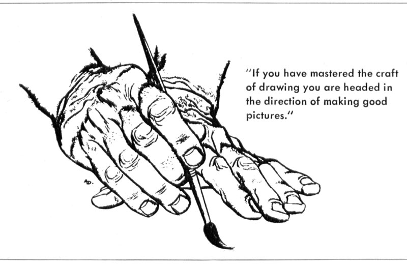 Today's Inspiration: Al Dorne on the Importance of Drawing