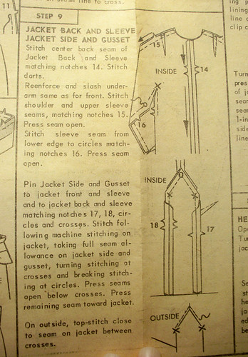Gusset Instructions