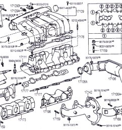 3vze engine diagram wiring diagram perfomance 3vz intake manifold hoses and upper injection diagrams [ 1133 x 821 Pixel ]