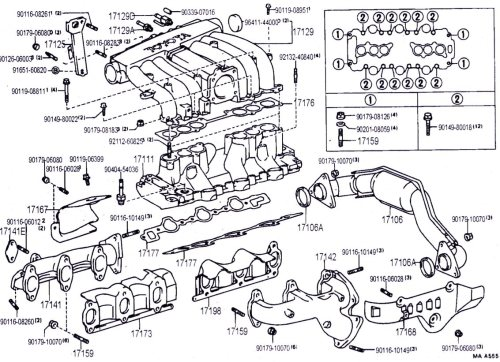 small resolution of 3vze engine diagram wiring diagram perfomance 3vz intake manifold hoses and upper injection diagrams