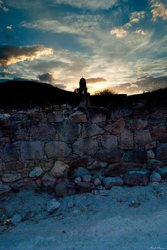 Atardecer y cupula basilica