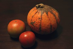 tomatoes and squash