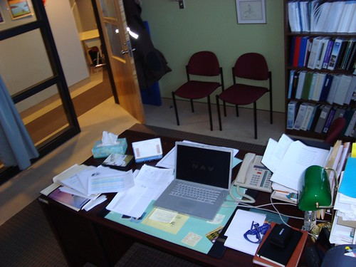 Le bureau du barbare