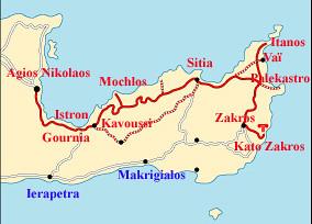 kavousi map
