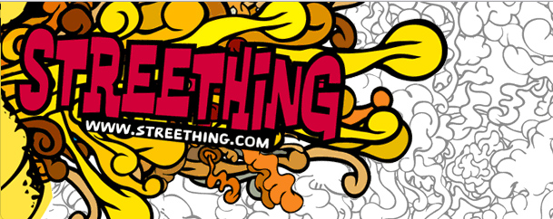 streething banner