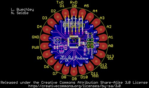 9 Pin Wiring Diagram Looking For A Complete Labeled Lilypad Diagram