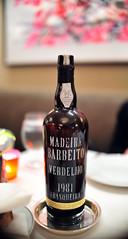 Verdelho Frasqueira Barbeito Madeira, 1981
