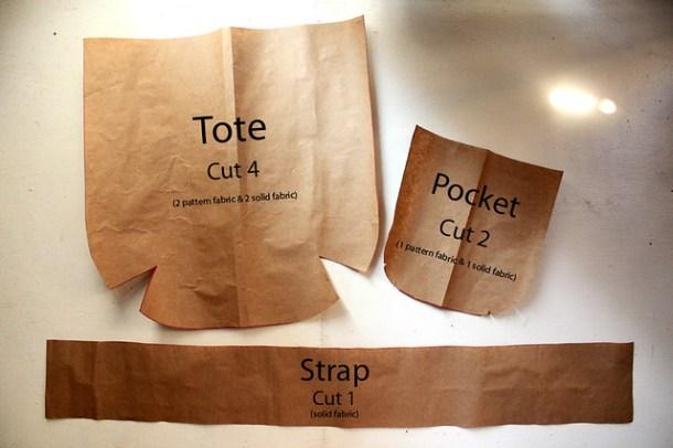Free Sewing Pattern #1 - Reversible Tote Bag – Shambijoux Craft ...