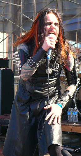 Tobias Sidegård of Necrophobic at Maryland Deathfest VIII