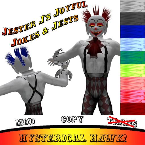 Jester J's Hysterical Hawk