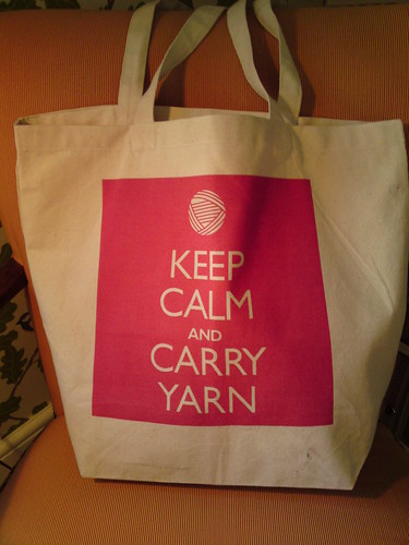keeep calm and carry yarn