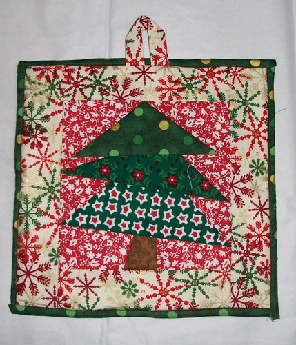 Wonky Tree Hot Pad/Pot Holder