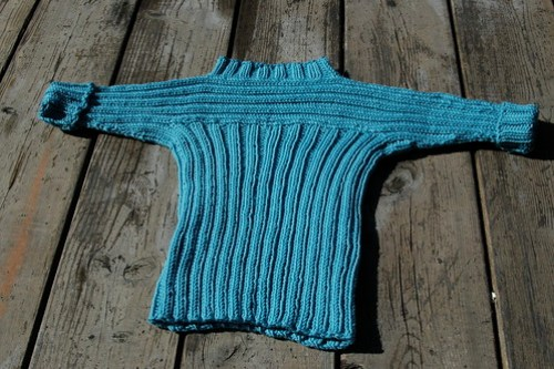 Perpendicular sweater - finished!