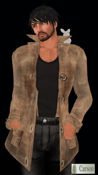 FF Simple Leather Jacket