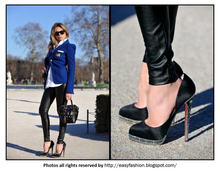 Blue Velvet - Paris Fashion Week