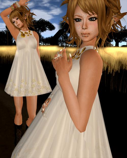 Agnes Finney April Dress