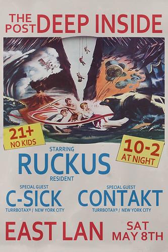 Contakt C-Sick Ruckus at the Post Deep Inside Dubstep Garage UK Funky East Lansing Michigan TURRBOTAX