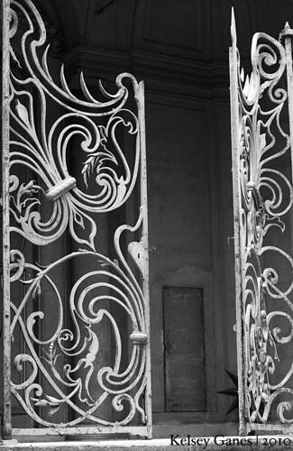 Villa Aldobrandini - Gate