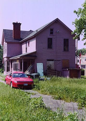 Shackelton house before restoration