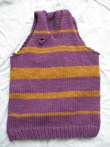 lsu vest - nearly finished