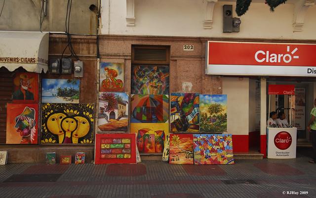 Art for sale - Calle el Conde , Santo Domingo, Dominican Republic